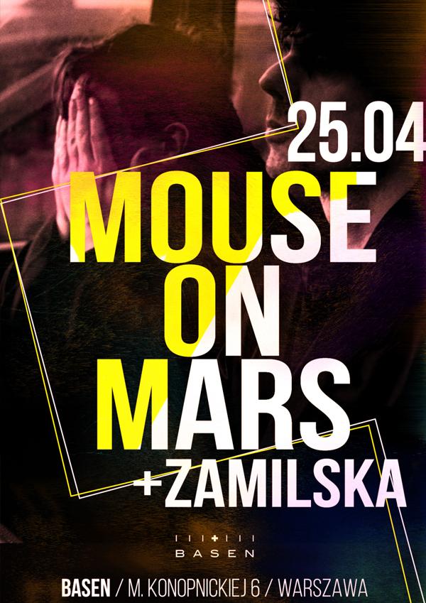 25.04.2015, WARSZAWA, KLUB BASEN, MOUSE ON MARS + ZAMILSKA