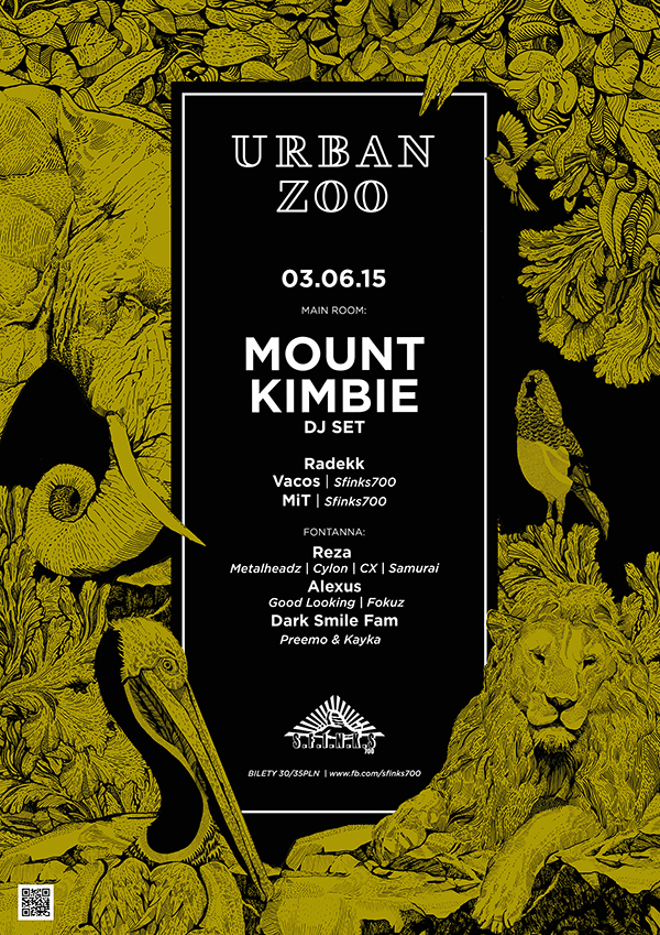 03.06.2015, SOPOT, KLUB SFINKS700, MOUNT KIMBIE/URBAN ZOO