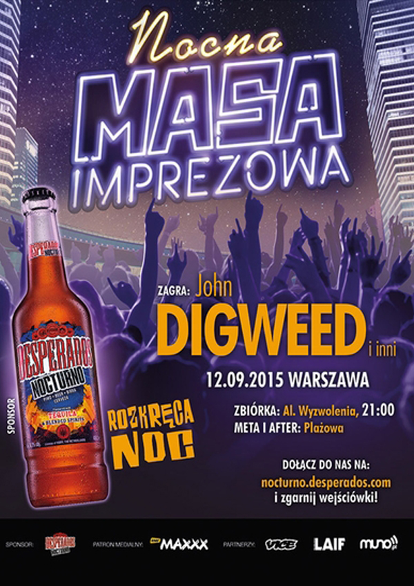12.09. 2015, Warszawa, Nocna Masa Imprezowa